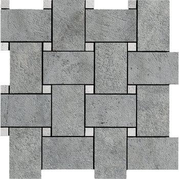 La Fabbrica Jungle Stone 154306 Silver mozaiek 30x30 per stuk