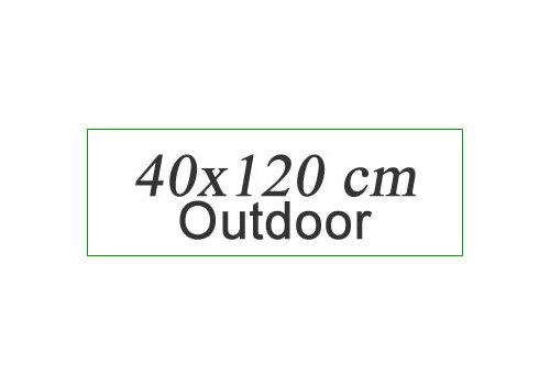 OUTDOOR 40x120 cm