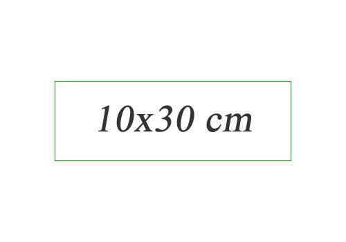 Vloertegels 10x30 cm
