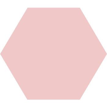 Winckelmans Hexagon 15 cm rose a 0,5 m²