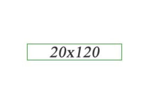 Vloertegels 20x120