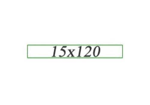 Vloertegels 15x120