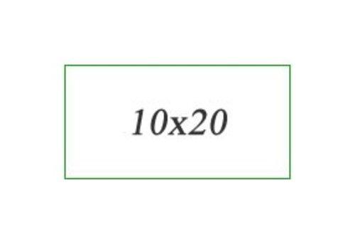 Wandtegels 10x20