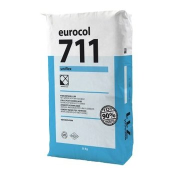 Eurocol 711 P-Lijm Uniflex Wit a 25 Kg