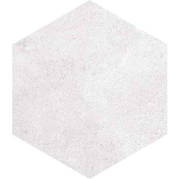 Vives Rift blanco 6-hoek, 23x26,6 a 0,5 m²