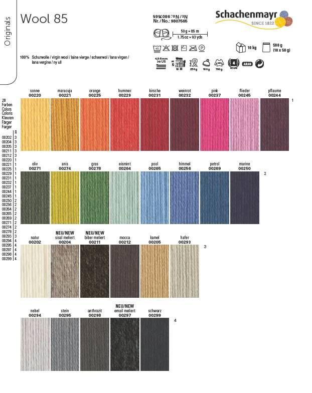 Schachenmayr Schachenmayr Wool 85