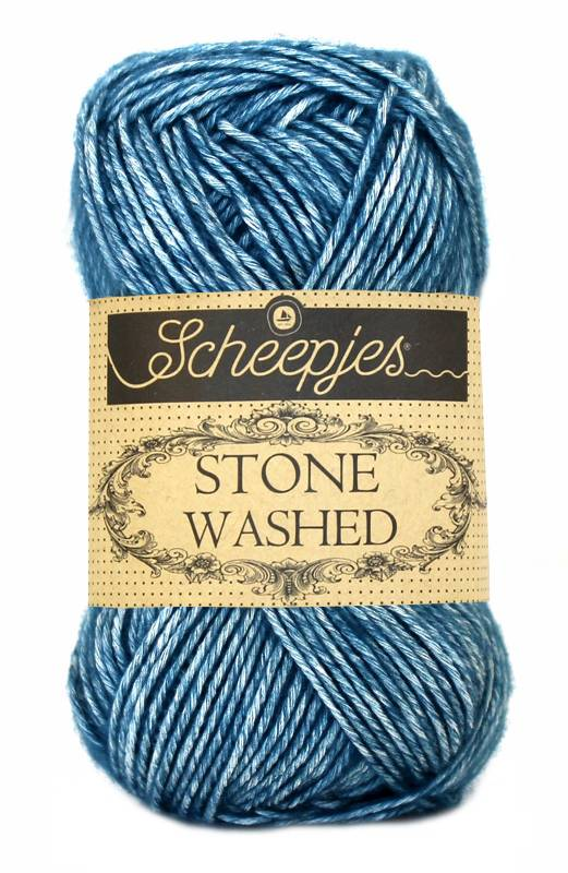 Scheepjeswol Scheepjes Stonewashed 805 Blue Apatite
