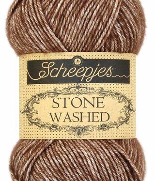 Scheepjeswol Scheepjes Stonewashed 822 Brown Agate