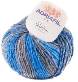 Adriafil Zebrino 62 Multi Blue Green Fancy