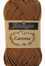 Scheepjeswol Catona 25 - 157 Root Beer