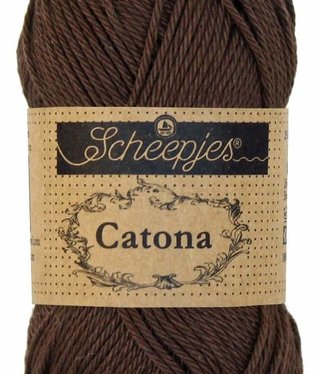 Scheepjeswol Catona 25 - 162 Black Coffee