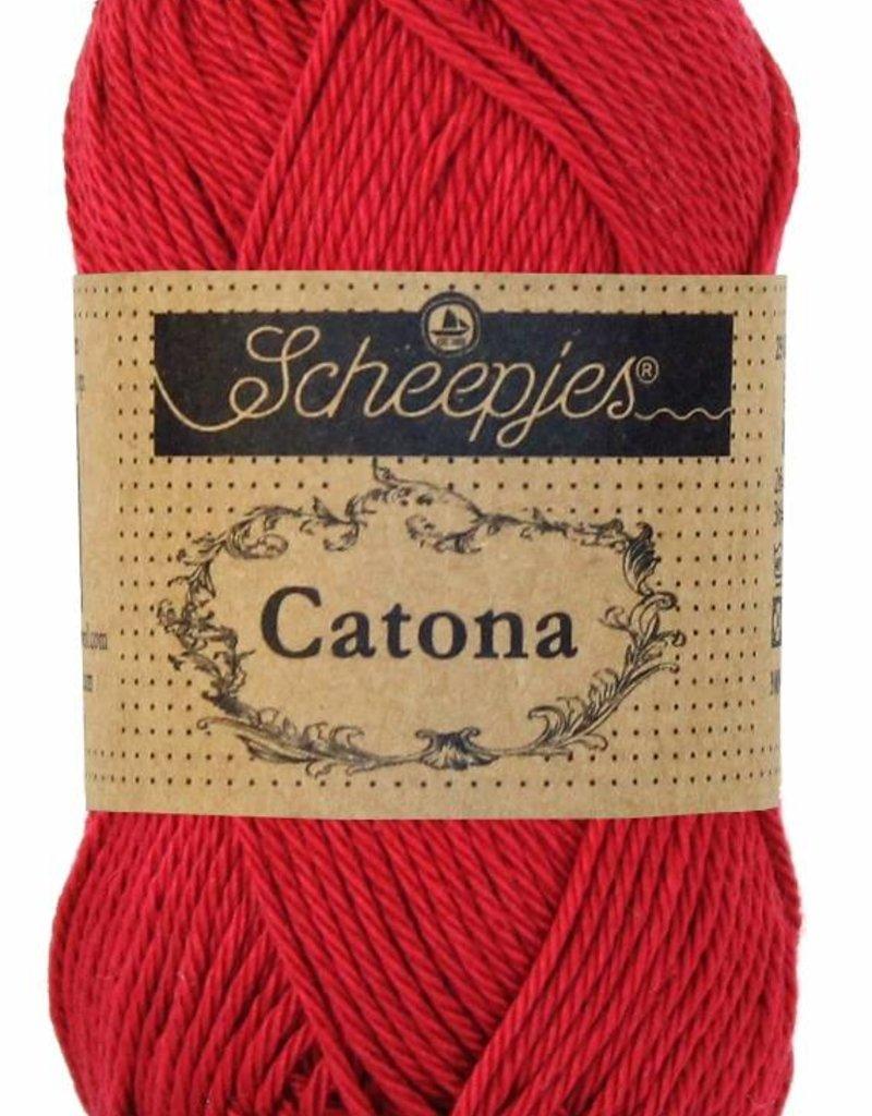 Scheepjeswol Catona 25 - 192 Scarlet
