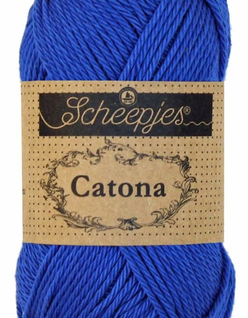 Scheepjeswol Catona 25 - 201 Electric Blue