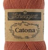 Scheepjeswol Catona 25 - 504 Brick Red