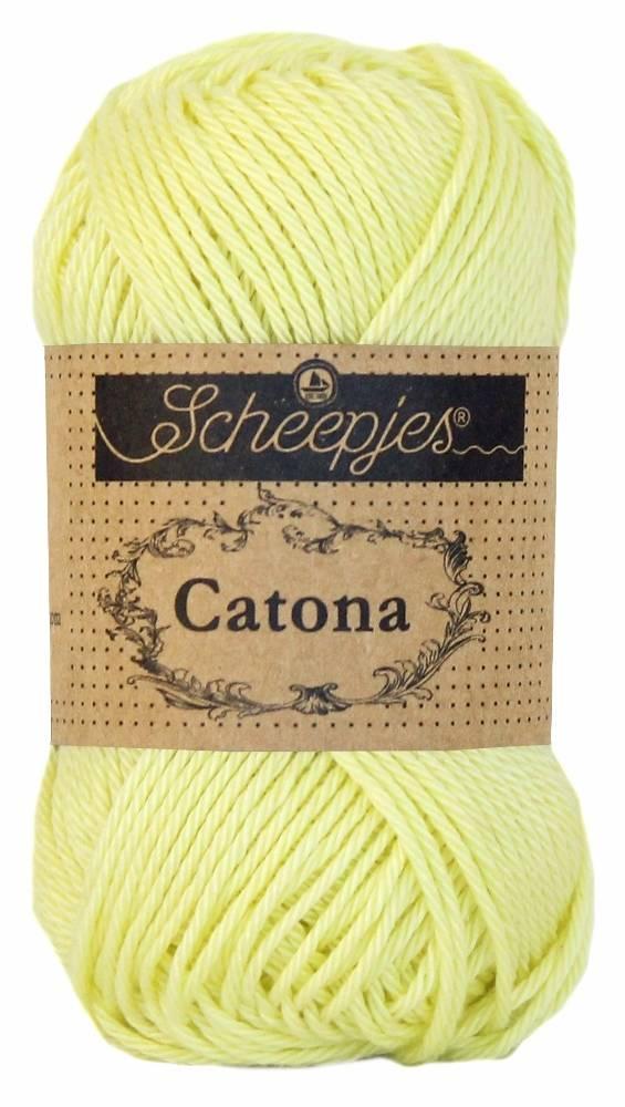 Scheepjeswol Catona 50 - 100 Lemon Chiffon