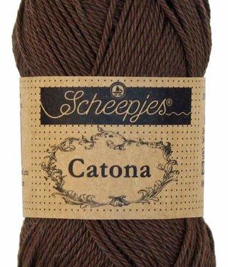 Scheepjeswol Catona 50 - 162 Black Coffee