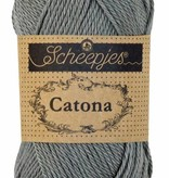 Scheepjeswol Catona 50 - 242 Metal Grey