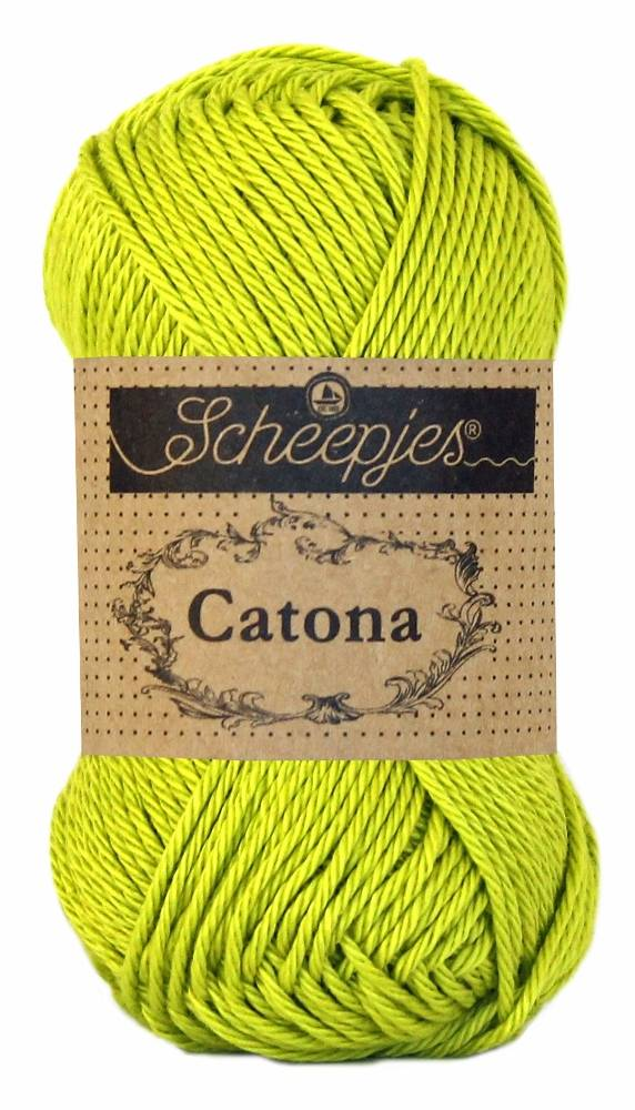 Scheepjeswol Catona 50 - 245 Green Yellow