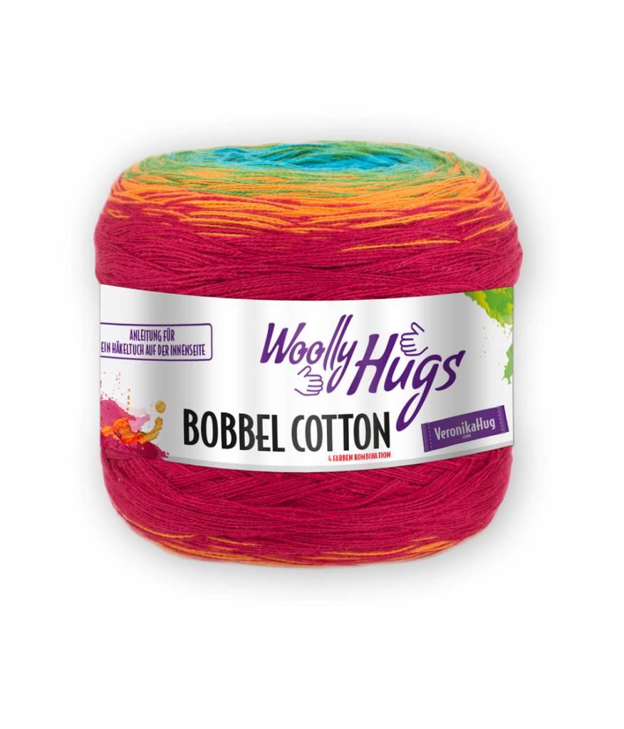 Woolly Hugs Bobbel Cotton 16 Regenboog [excl. Bobbelbox]