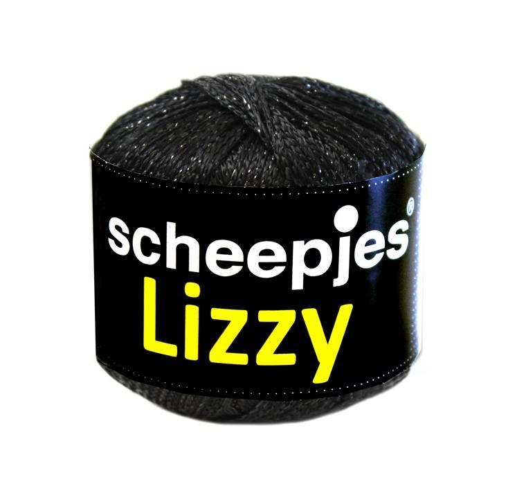 Scheepjeswol Lizzy - 009 Black