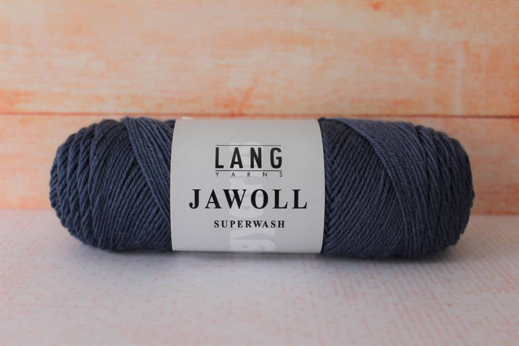 LangYarns JAWOLL Superwash 007 Grijsblauw