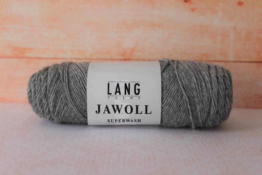 LangYarns JAWOLL Superwash 005 Grijs gemêleerd