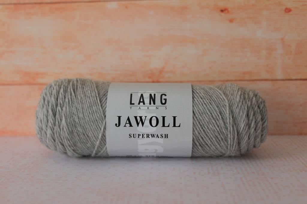 LangYarns JAWOLL Superwash 023 Licht Grijs gemêleerd