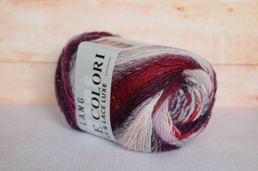 LangYarns Mille Colori Socks & Lace Luxe 65