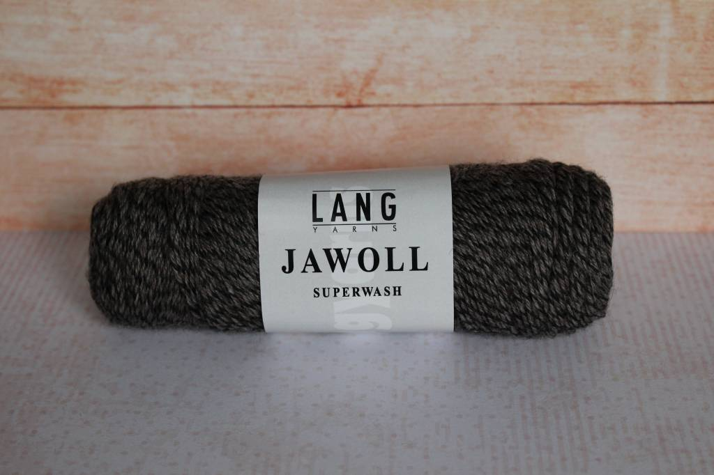 LangYarns JAWOLL Superwash 152 Zwart / Bruin