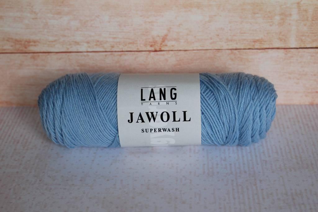 LangYarns JAWOLL Superwash 220 Licht Blauw