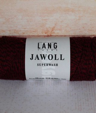 LangYarns JAWOLL Superwash 056 Zwart / Rood