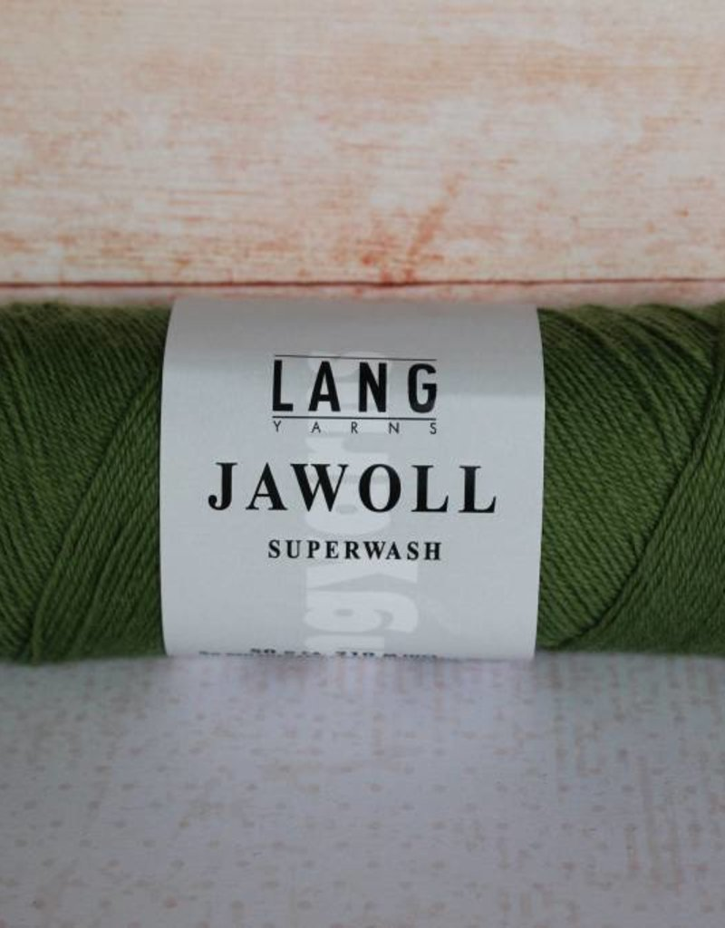 LangYarns JAWOLL Superwash 198 Olijf