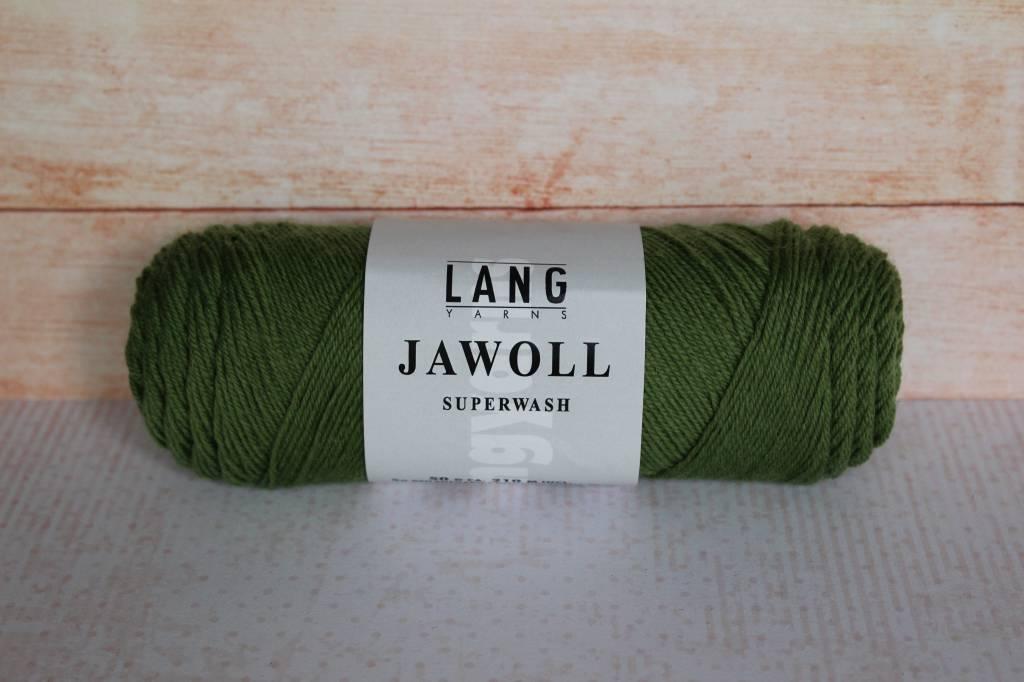 LangYarns JAWOLL Superwash 198 Olijf