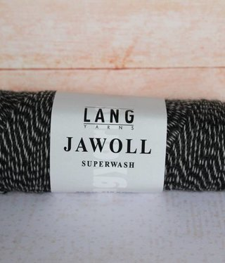 LangYarns JAWOLL Superwash 137 Creme / Grijs