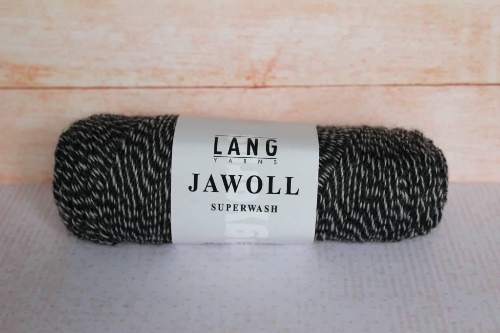 LangYarns JAWOLL Superwash 137 Creme / Grijs