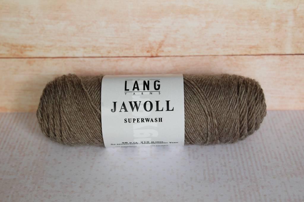 LangYarns JAWOLL Superwash 045 Lichtbruin gemêleerd