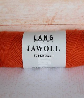LangYarns JAWOLL Superwash 159 Vurig Oranje