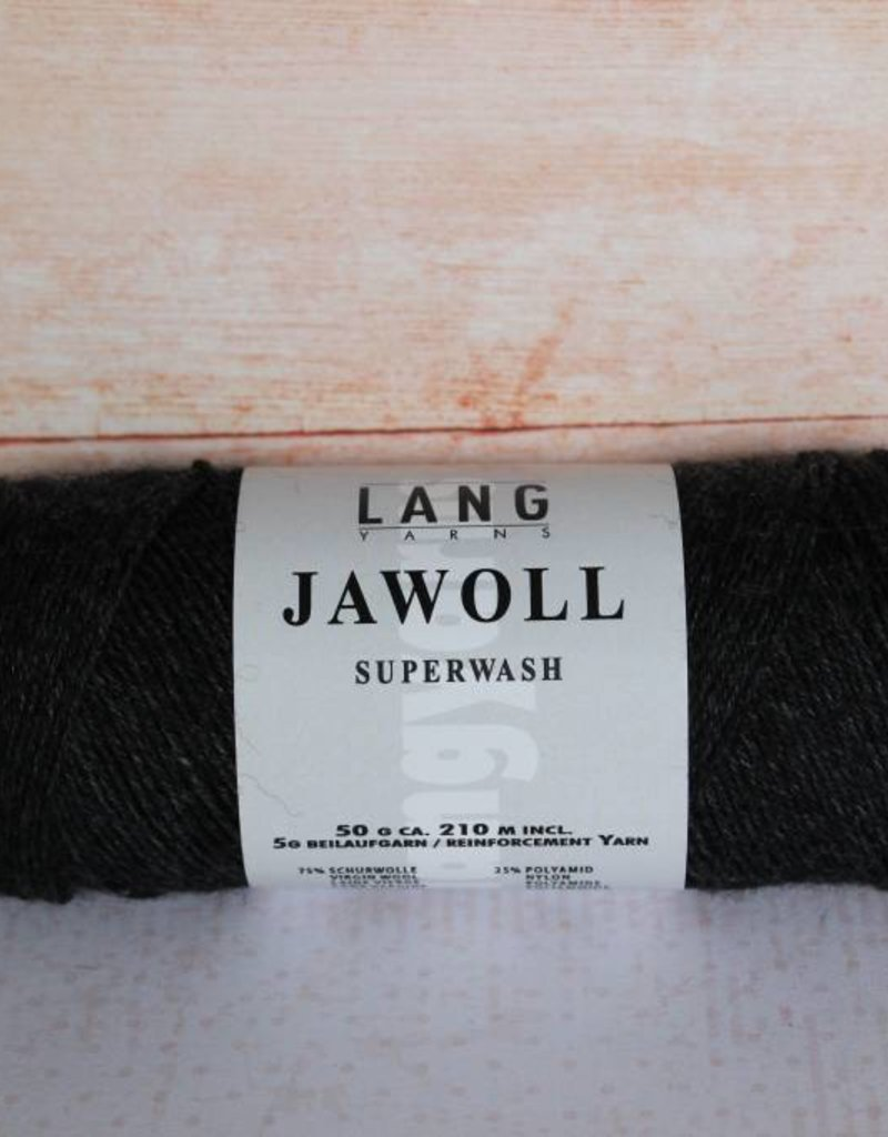 LangYarns JAWOLL Superwash 070 Antraciet gemêleerd