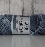 LangYarns JAWOLL Twin 06 Grijs Blauw Degradé