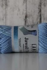 LangYarns JAWOLL Twin 07 Jeans Grijs Degradé