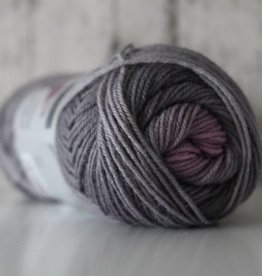 LangYarns JAWOLL Twin 09 Grijs Paars Degradé