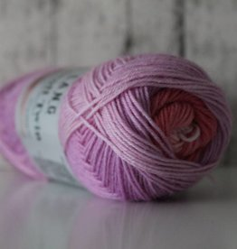 LangYarns JAWOLL Twin 10 Paars Roze Degradé