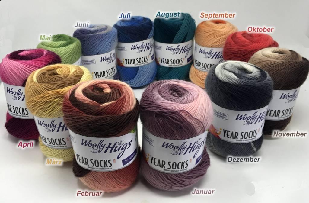 Woolly Hugs Year Sockyarn - 001 Januari