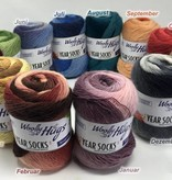 Woolly Hugs Year Sockyarn - 004 April