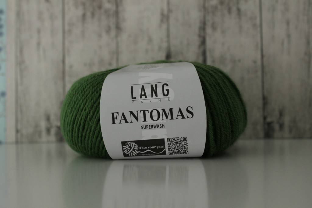 LangYarns Fantomas 218 Bladgroen