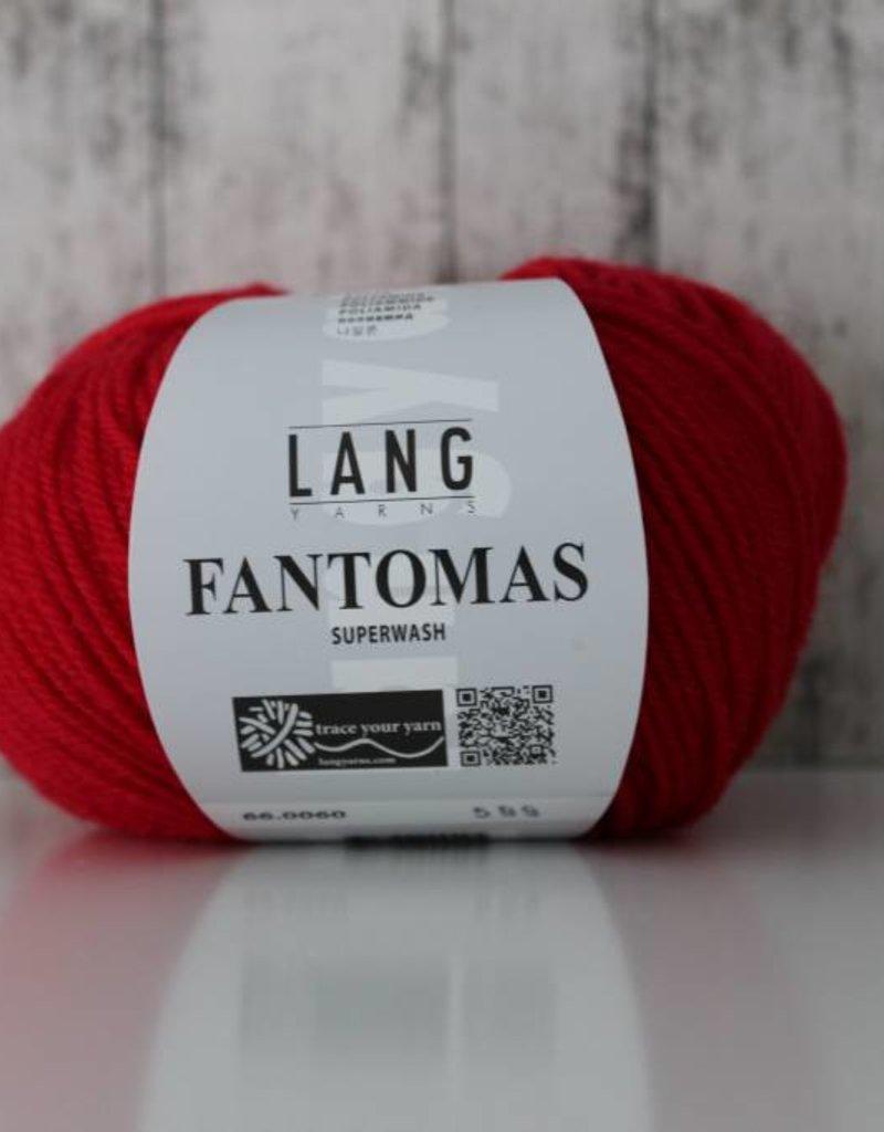 LangYarns Fantomas 060 Helder Rood