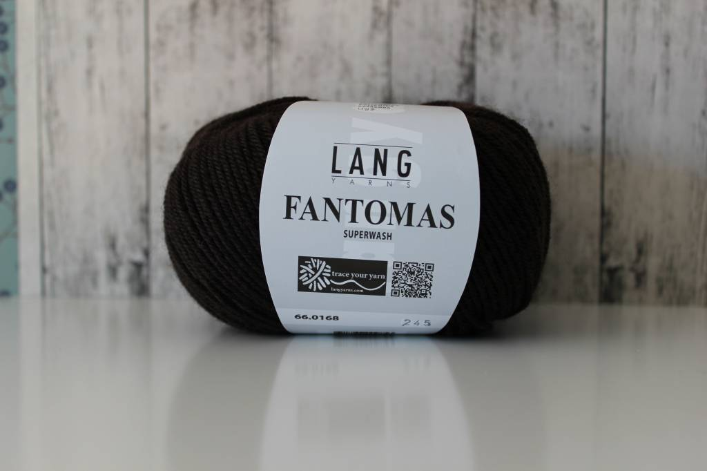 LangYarns Fantomas 168 Koffie Bruin