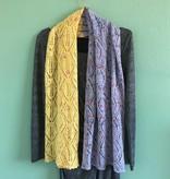 Bianca Boonstra Designs Los Patroon Diamond Lace Shawl