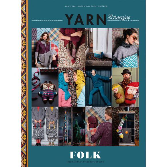 Scheepjeswol Yarn Book-a-zine Issue 6: Folk