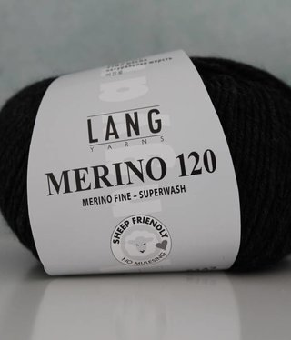 LangYarns Merino 120 - 005 Anthraciet